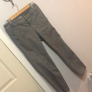 Gray Ankle Pixie Pant
